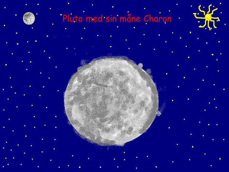 Pluto med sin måne Charon
