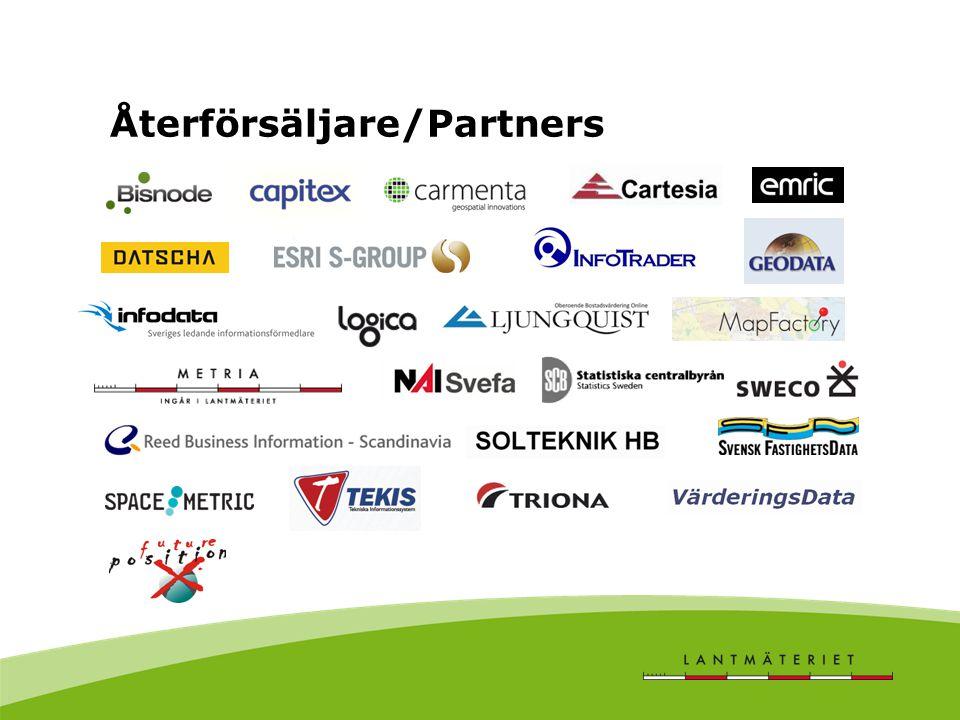 Återförsäljare/Partners