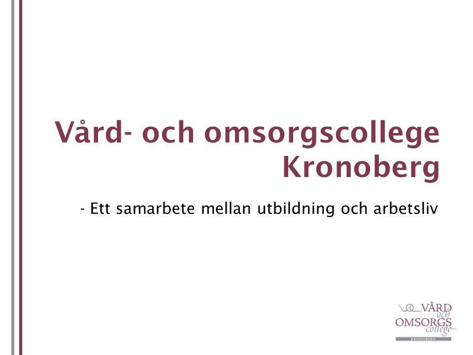 Vård- och omsorgscollege Kronoberg