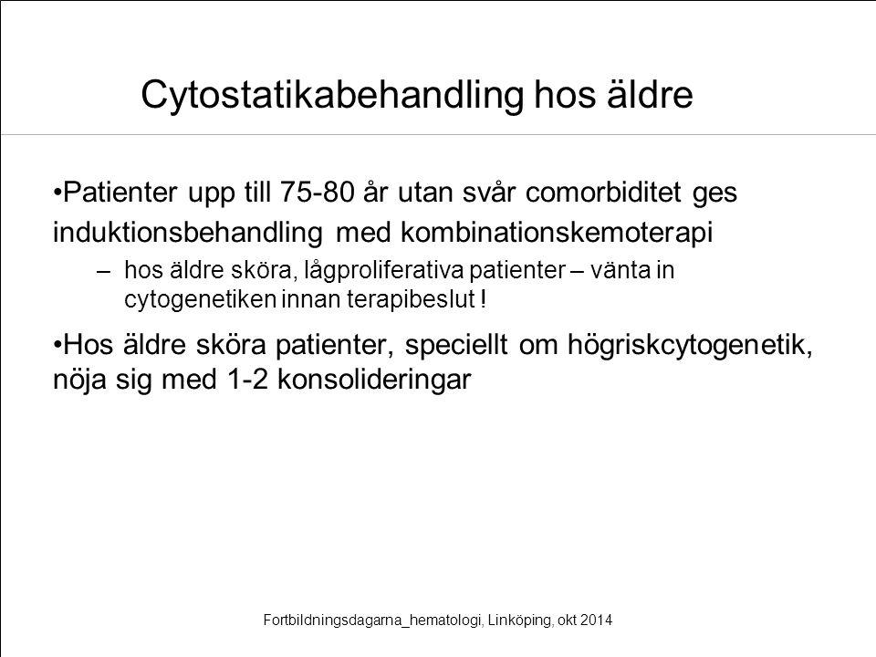 Cytostatikabehandling hos äldre