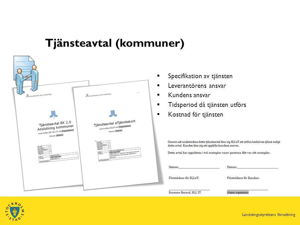 Tjänsteavtal (kommuner)