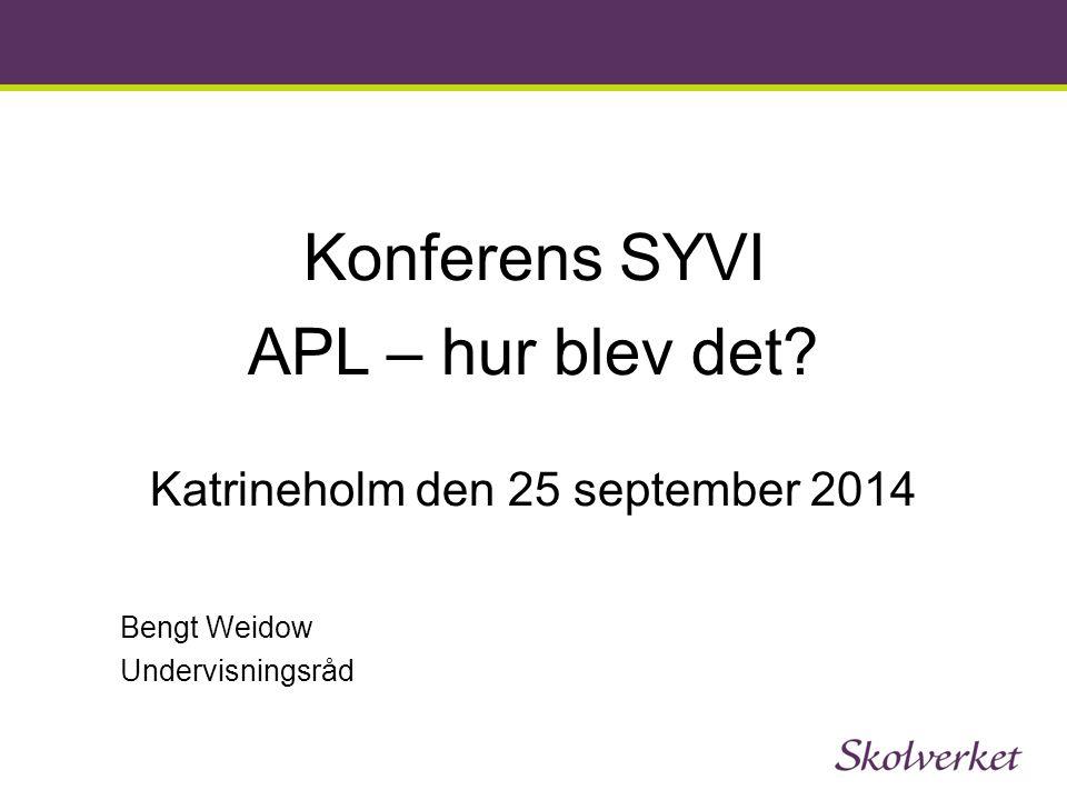Katrineholm den 25 september 2014