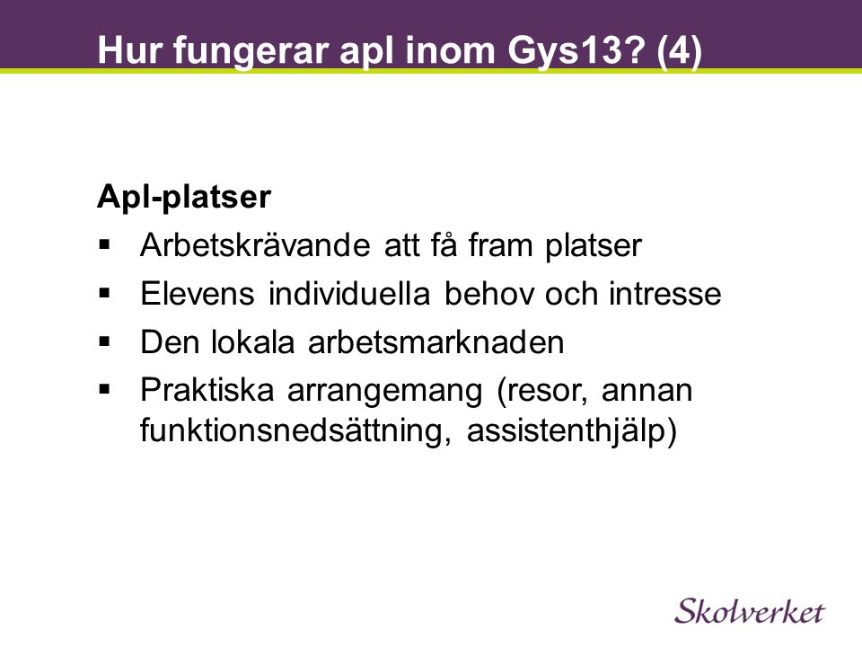 Hur fungerar apl inom Gys13 (4)