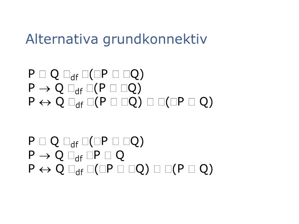 Alternativa grundkonnektiv