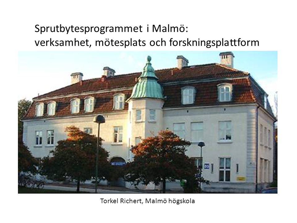 Sprutbytesprogrammet i Malmö: