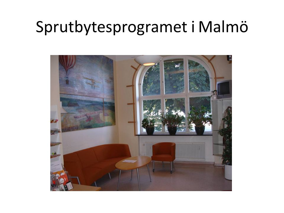 Sprutbytesprogramet i Malmö