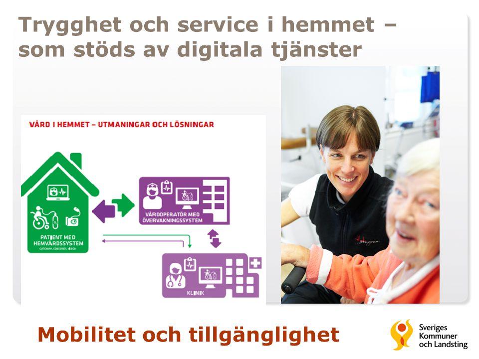 Trygghet och service i hemmet – som stöds av digitala tjänster