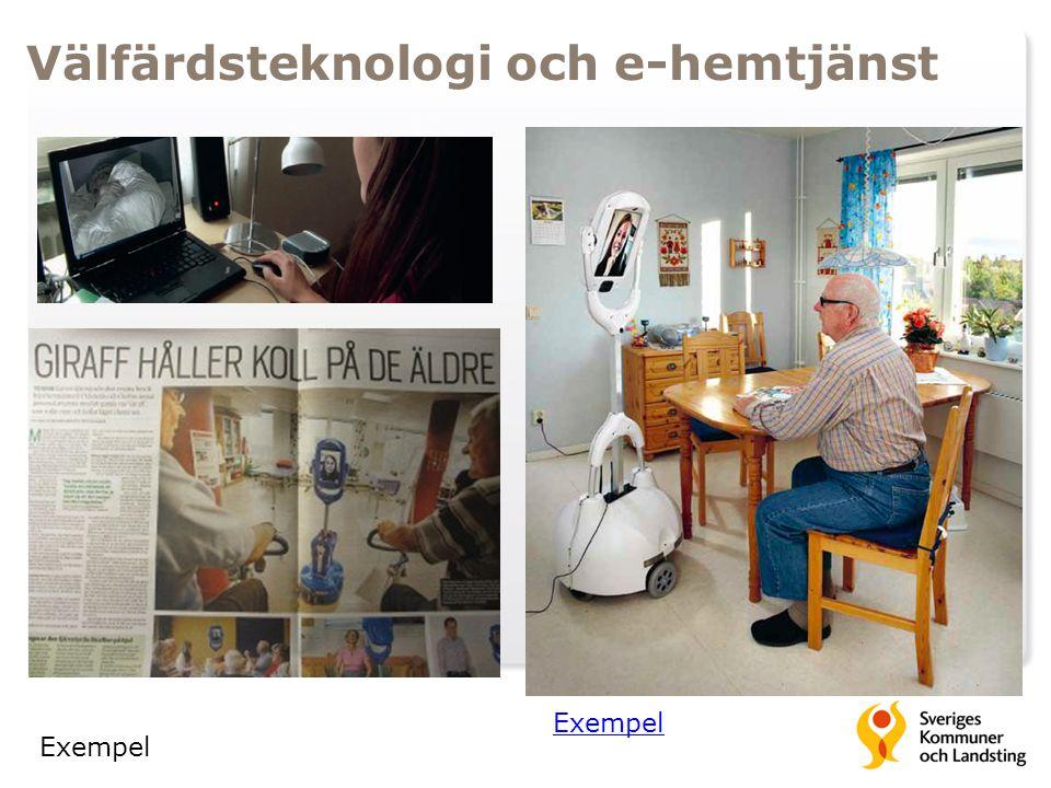 Välfärdsteknologi och e-hemtjänst