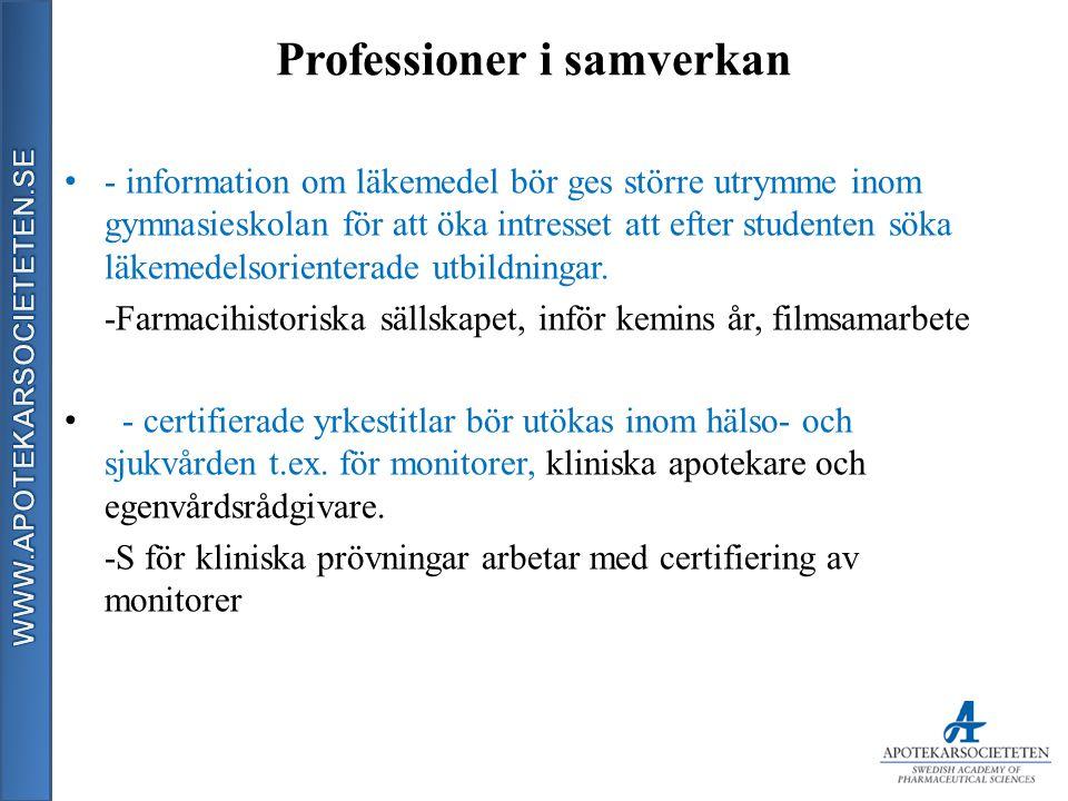 Professioner i samverkan