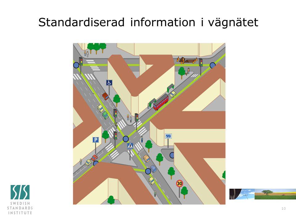 Standardiserad information i vägnätet