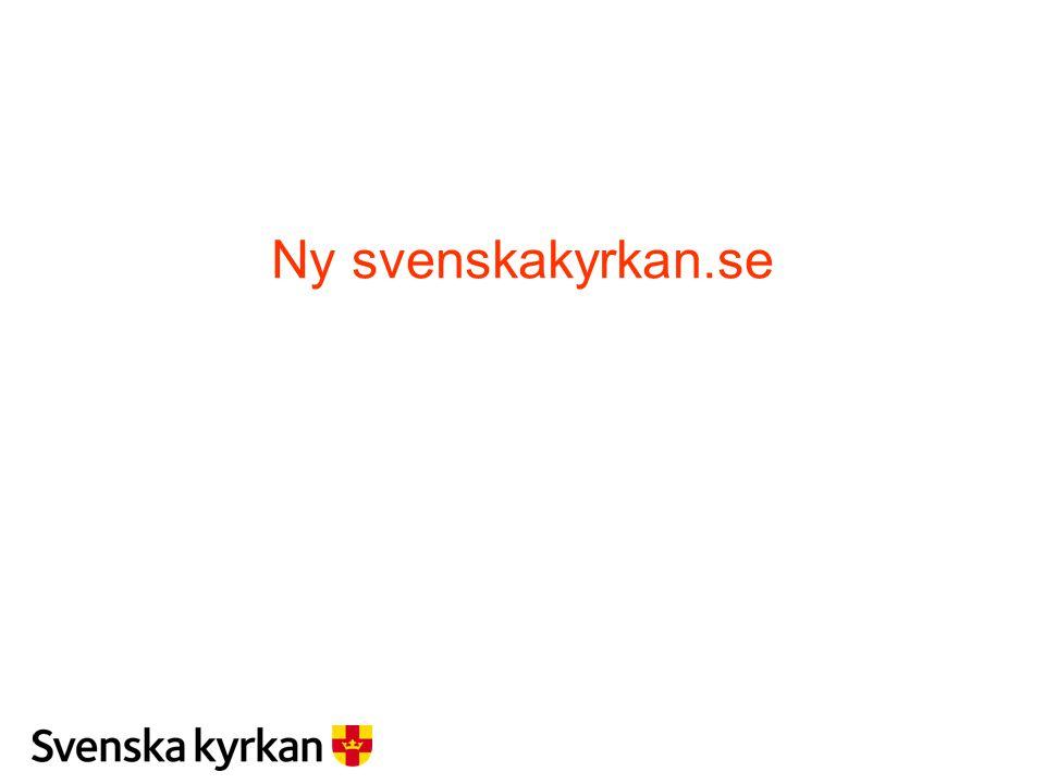 Ny svenskakyrkan.se