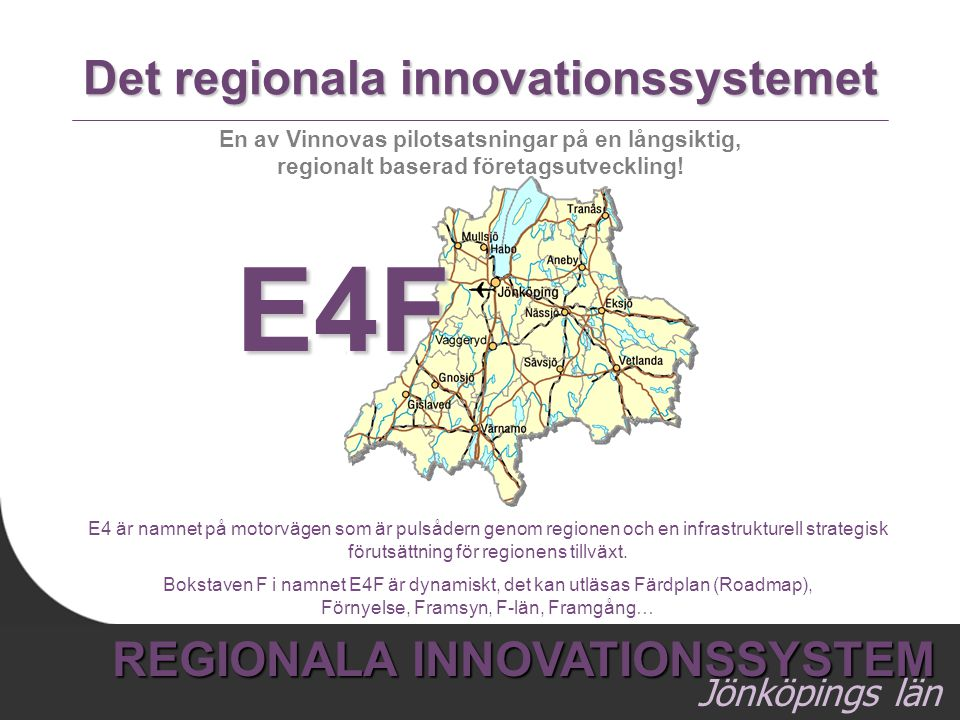 Det regionala innovationssystemet
