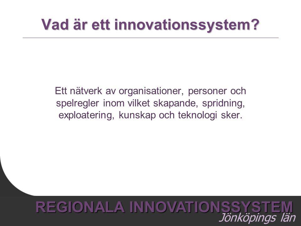 Vad är ett innovationssystem