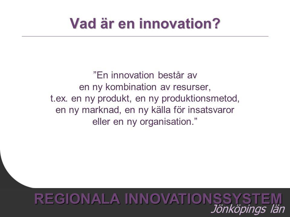 Vad är en innovation