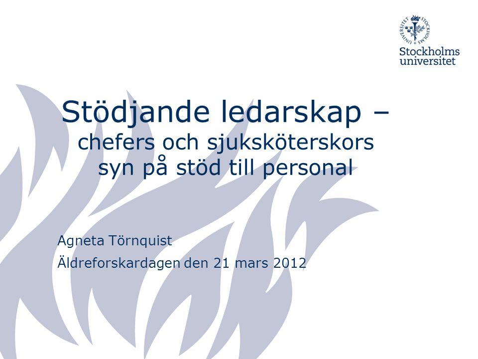 Agneta Törnquist Äldreforskardagen den 21 mars 2012
