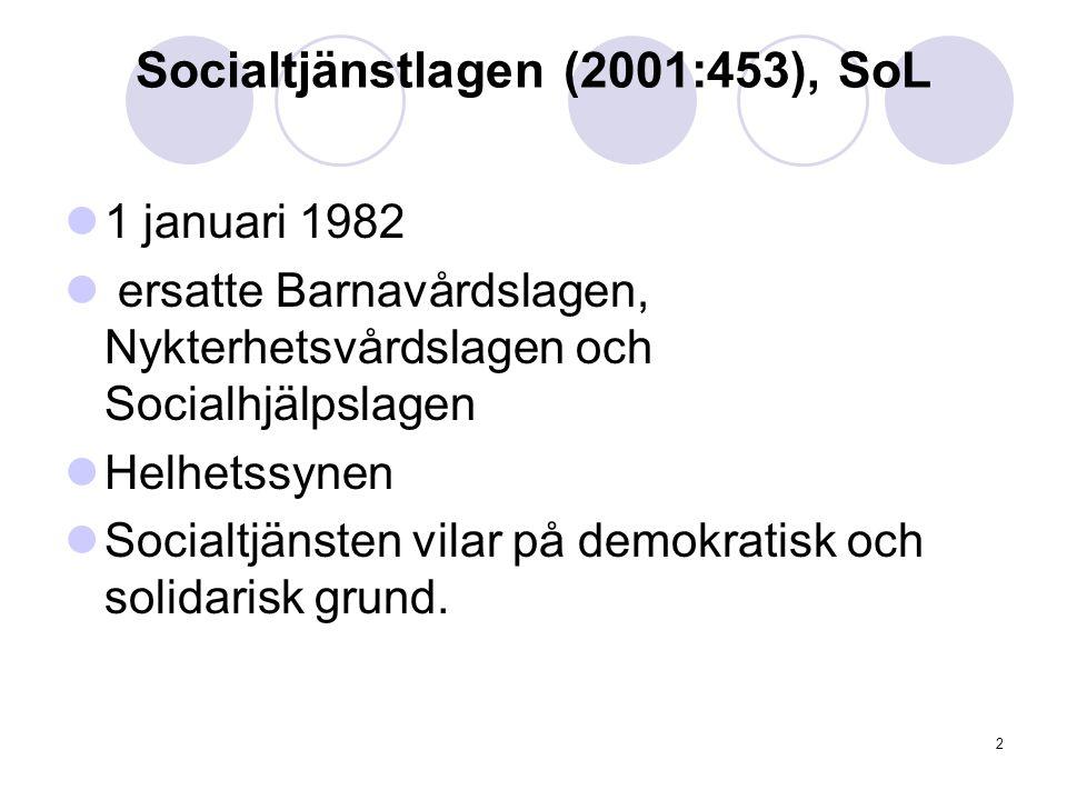 Socialtjänstlagen (2001:453), SoL