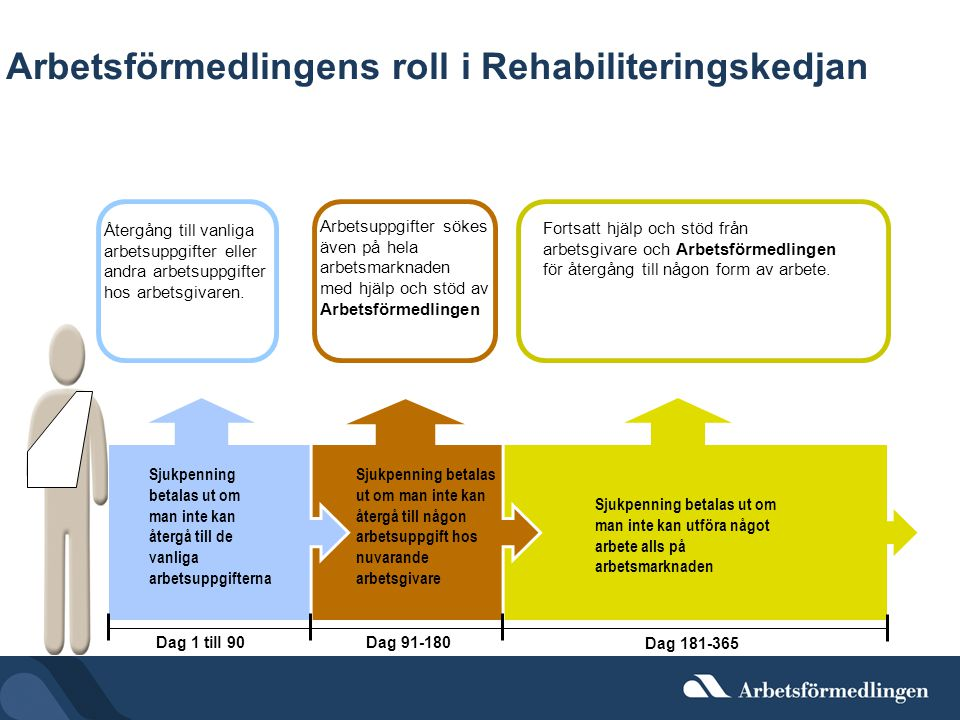 Arbetsförmedlingens roll i Rehabiliteringskedjan