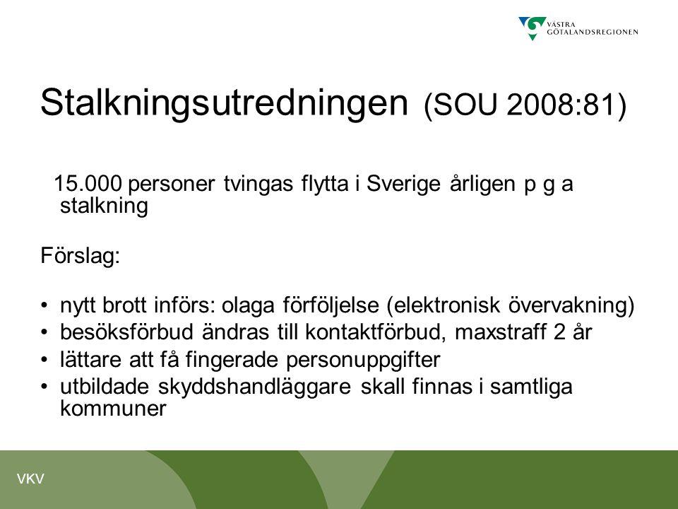 Stalkningsutredningen (SOU 2008:81)