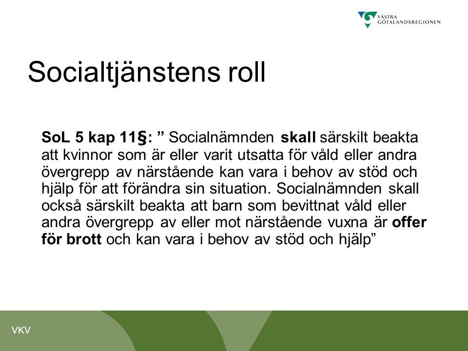 Socialtjänstens roll