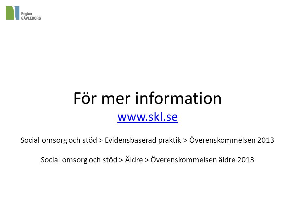För mer information www. skl