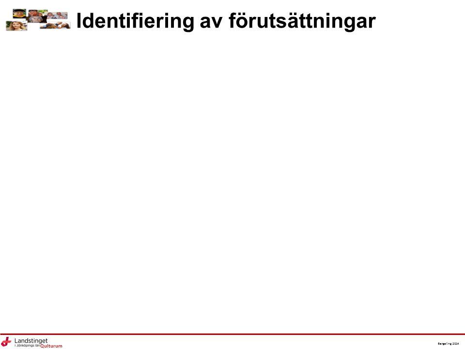 Identifiering av förutsättningar