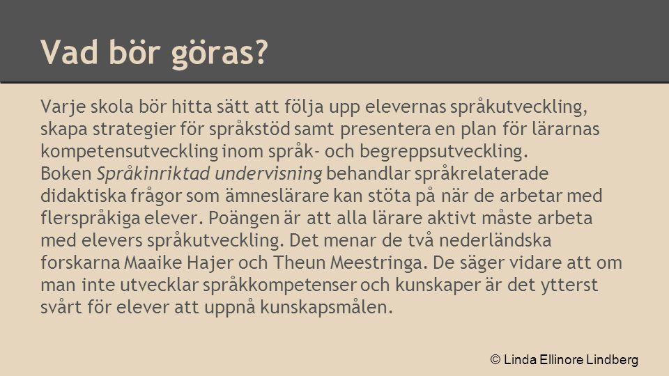 Många svenska skolungdomar har annat modersmål än svenska.