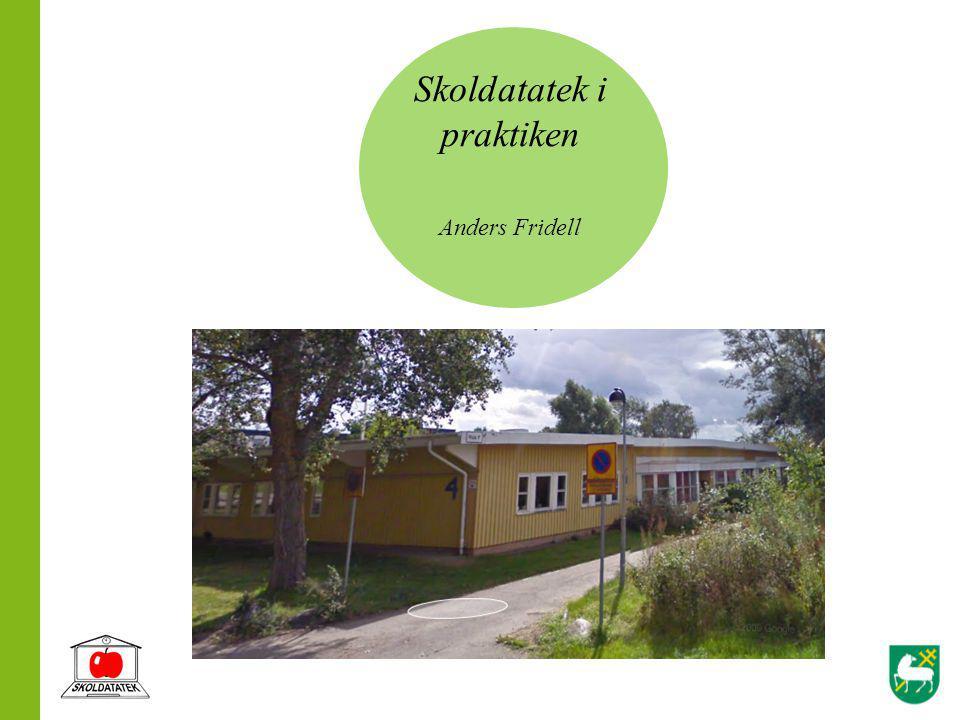 Skoldatatek i praktiken Anders Fridell