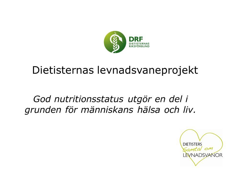 Dietisternas levnadsvaneprojekt