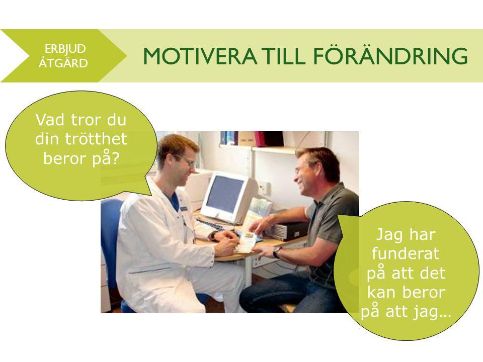 MOTIVERA TILL FÖRÄNDRING