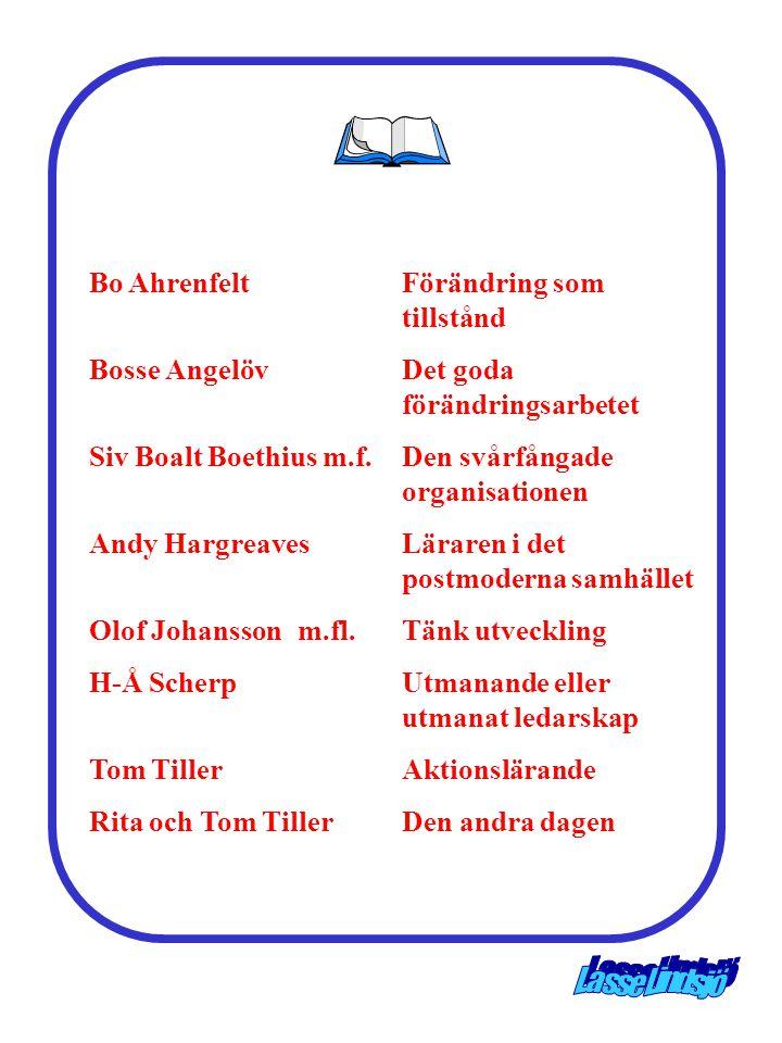 Bo Ahrenfelt Förändring som tillstånd