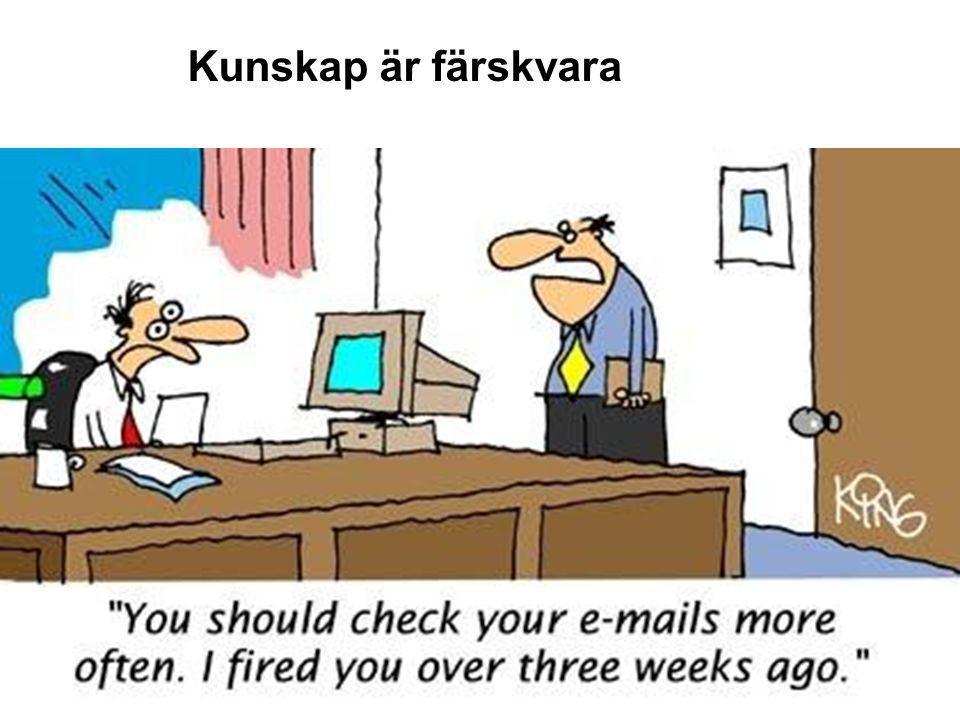 Kunskap är färskvara 2017-04-07 Agneta Pettersson, 2006