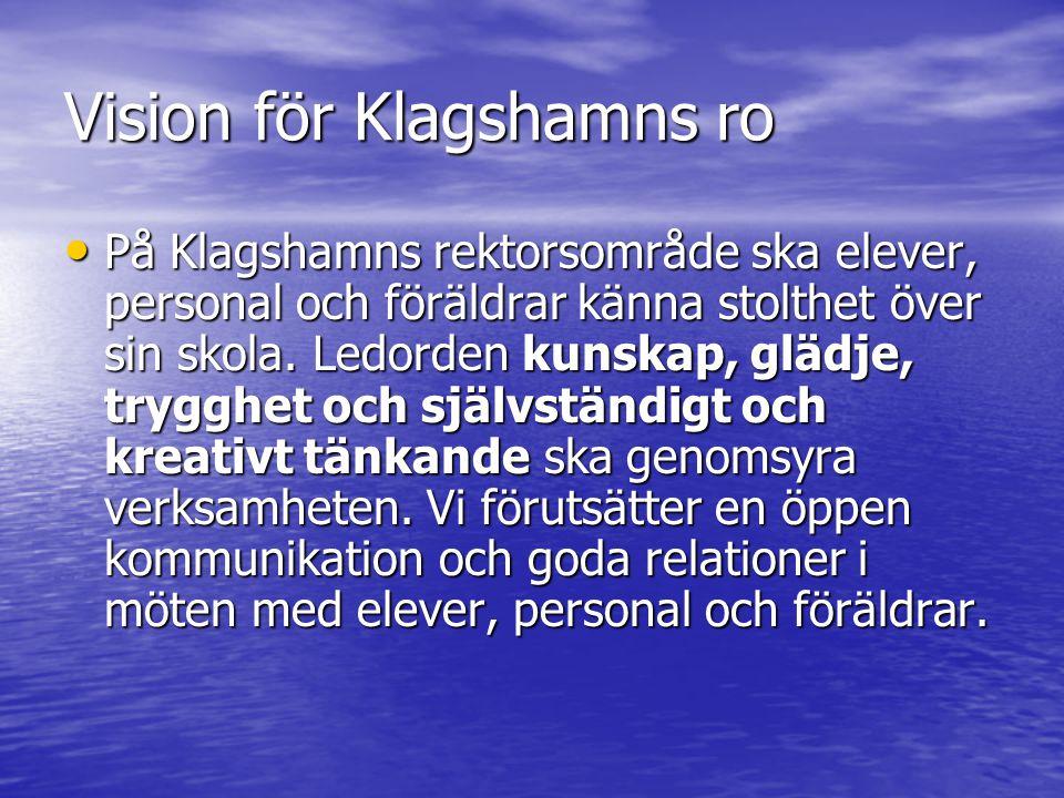 Vision för Klagshamns ro