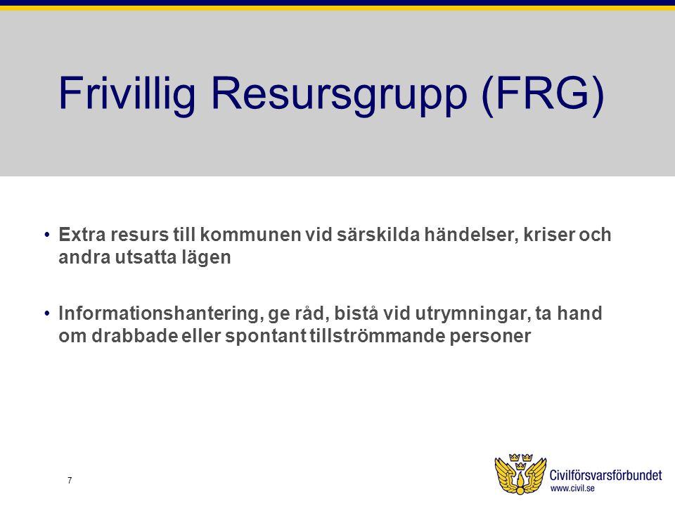 Frivillig Resursgrupp (FRG)