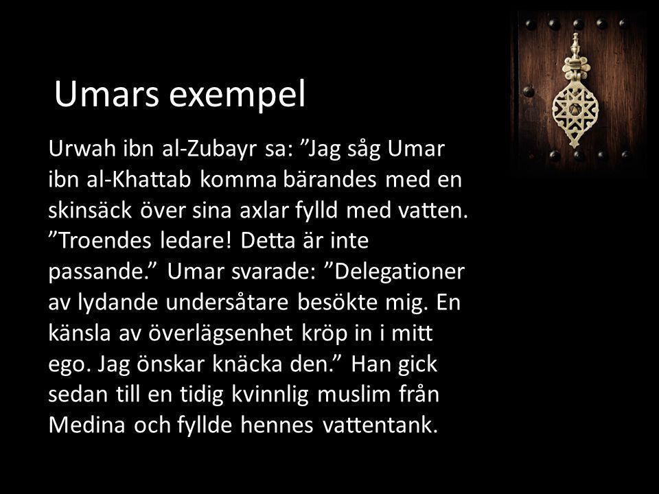 Umars exempel