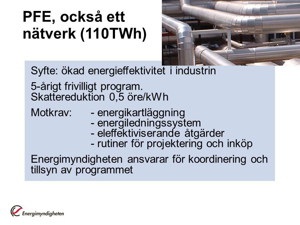 PFE, också ett nätverk (110TWh)