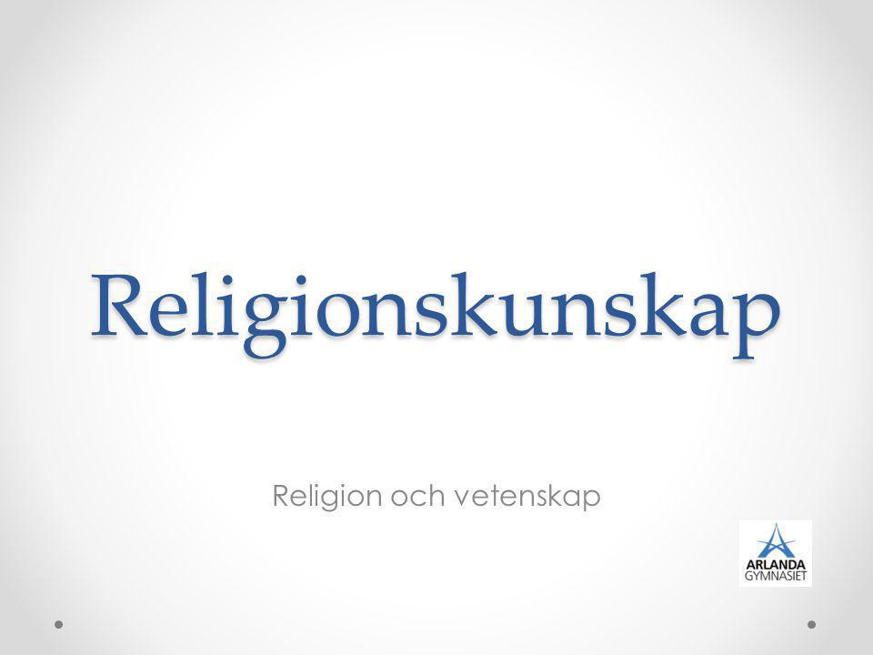 Religion och vetenskap