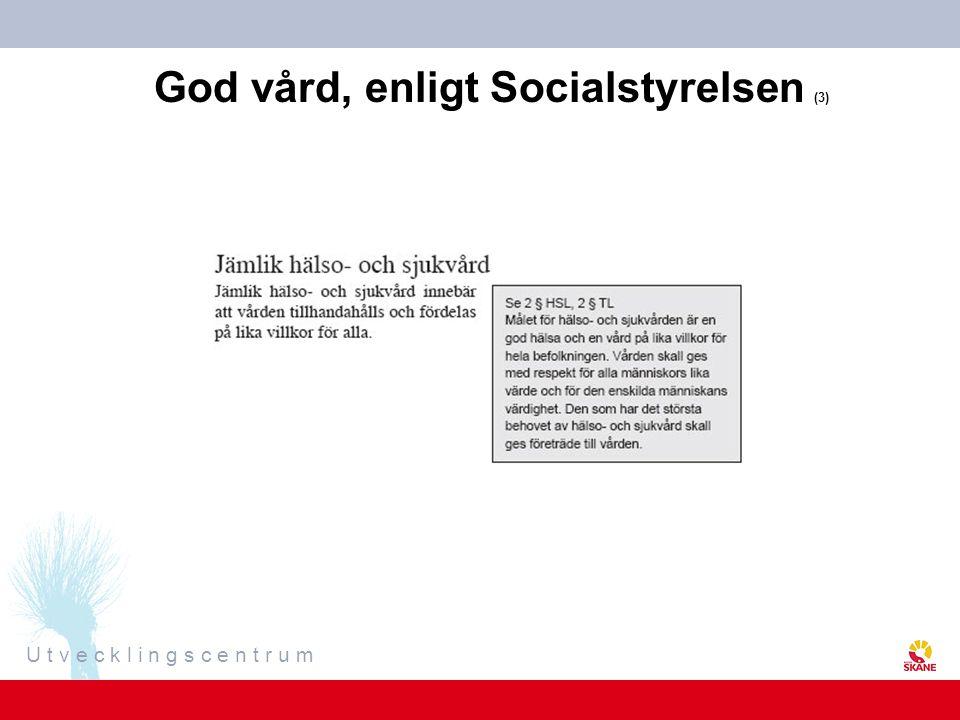 God vård, enligt Socialstyrelsen (3)