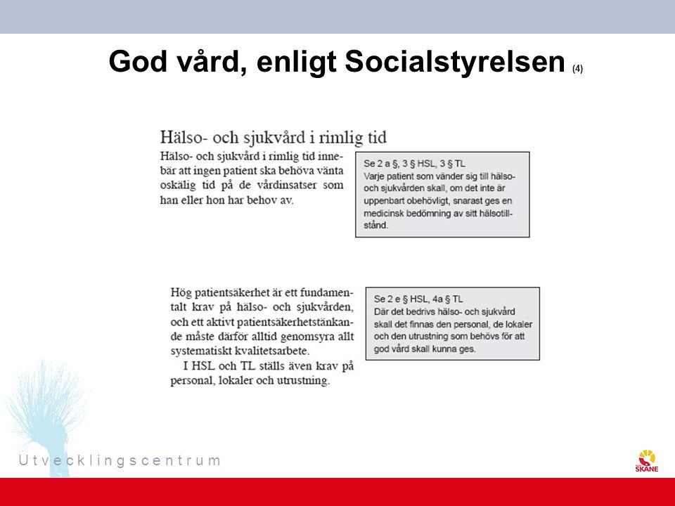 God vård, enligt Socialstyrelsen (4)