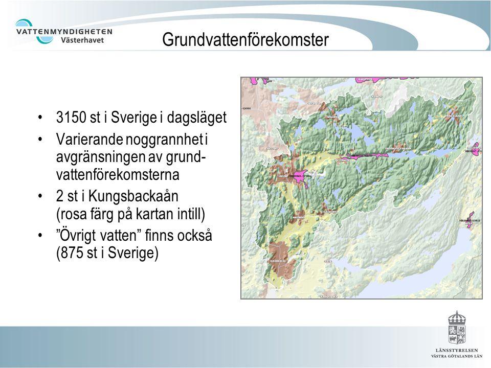 Grundvattenförekomster