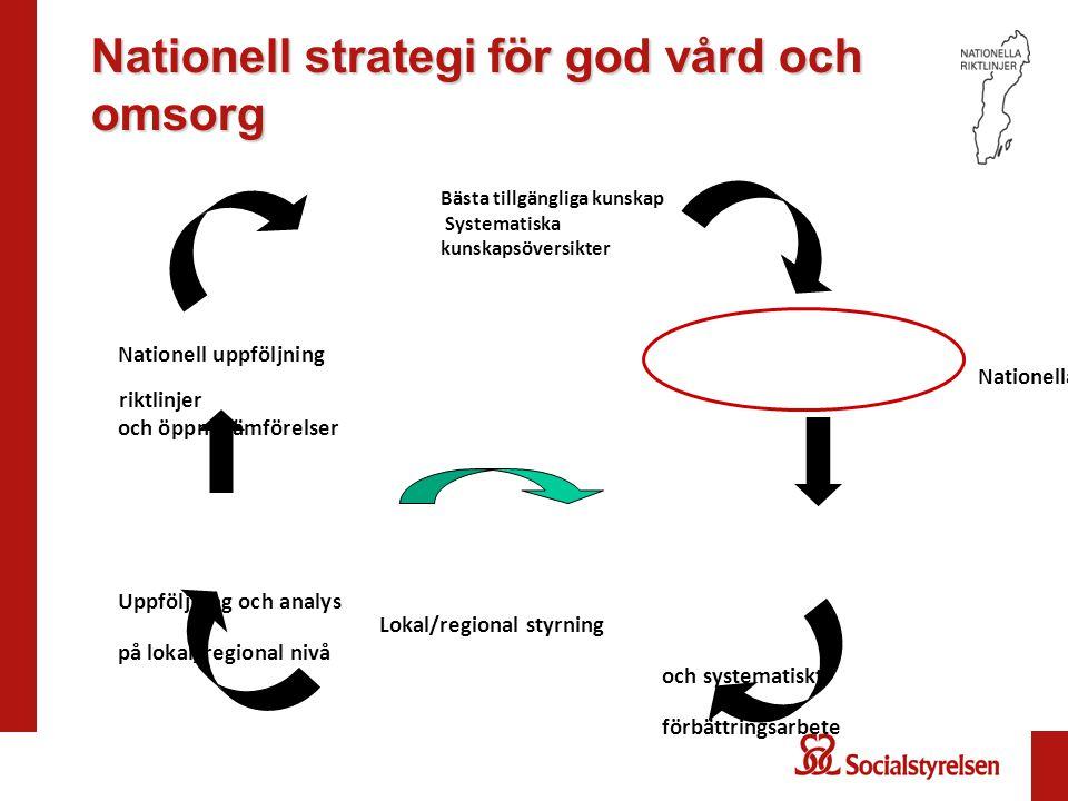 Nationell strategi för god vård och omsorg
