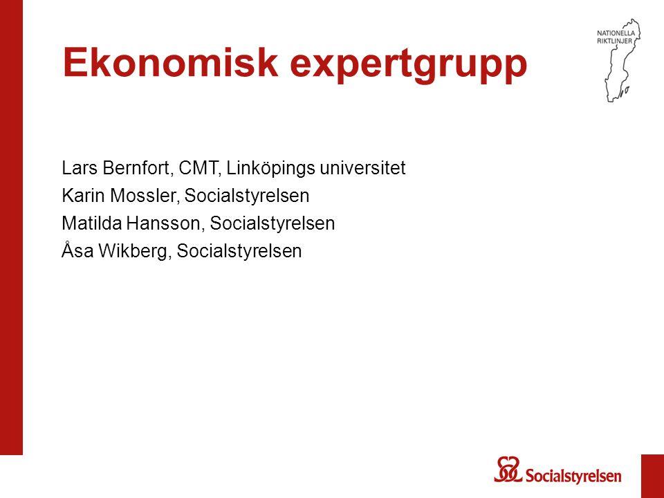 Ekonomisk expertgrupp