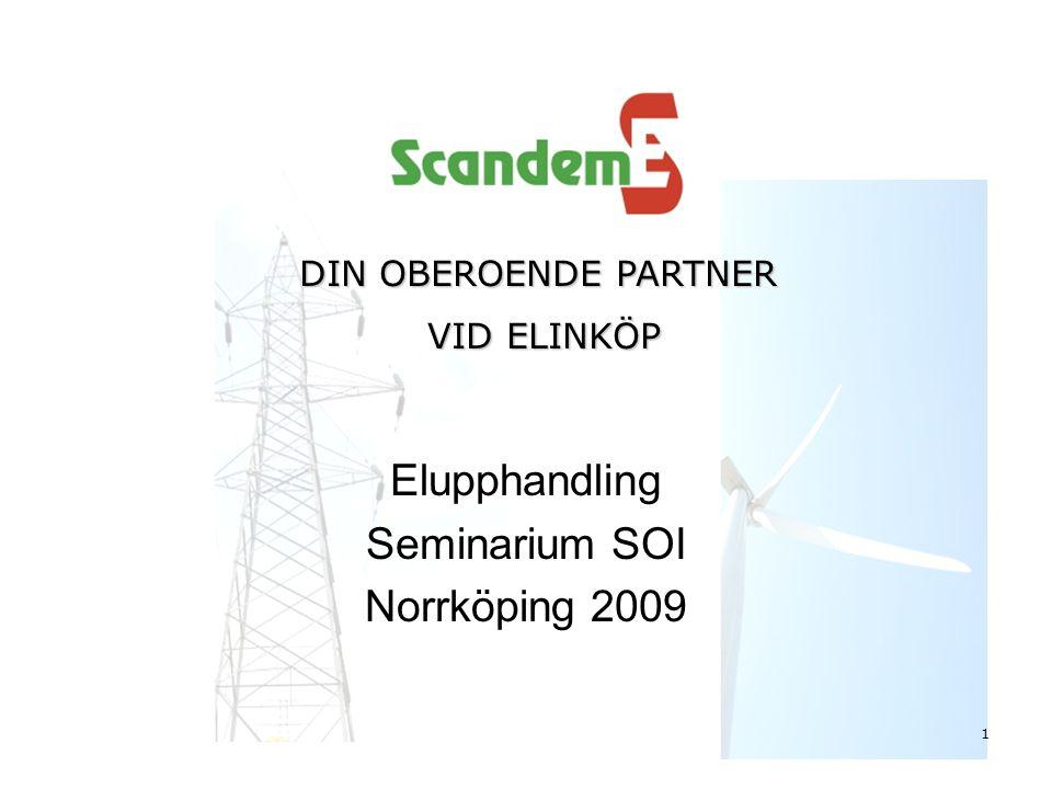 Elupphandling Seminarium SOI Norrköping 2009