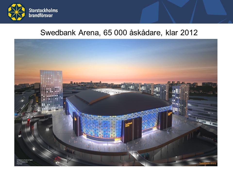 Swedbank Arena, 65 000 åskådare, klar 2012