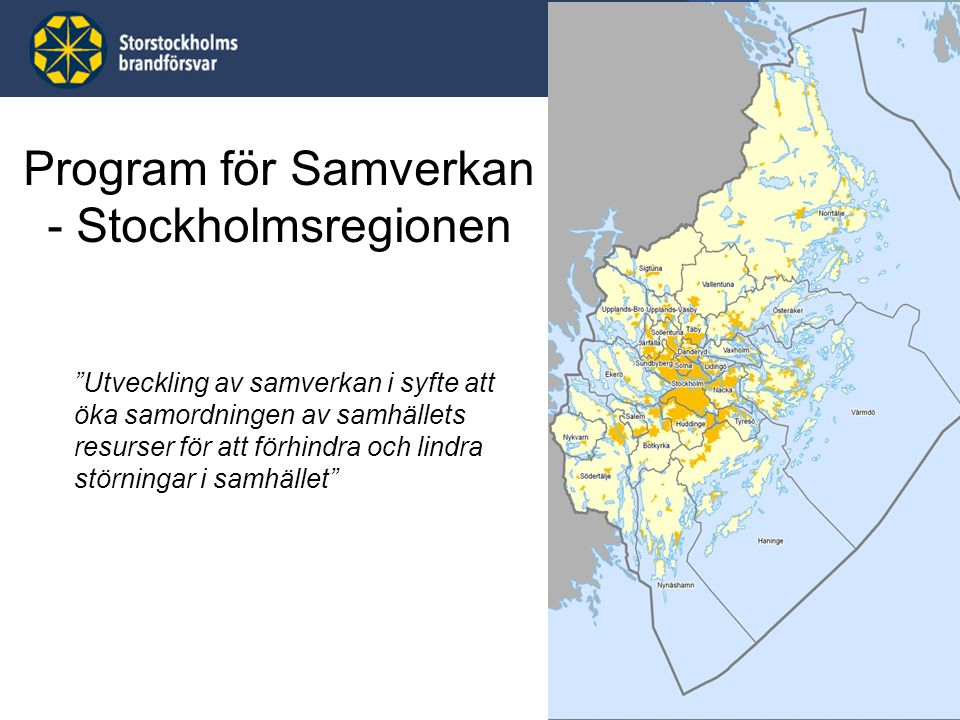 Program för Samverkan - Stockholmsregionen