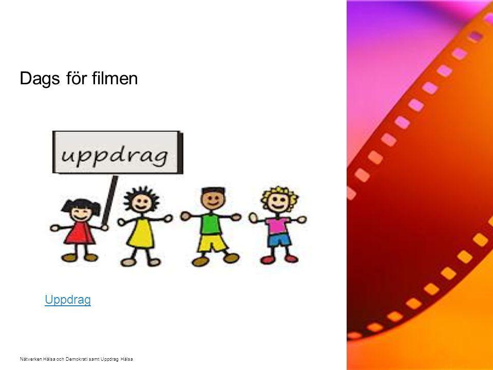 Dags för filmen Uppdrag Film: Nätverkets film del 2, Uppdrag