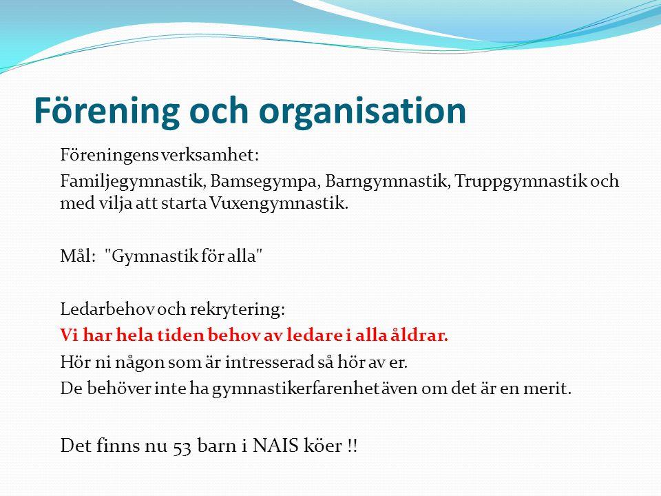 Förening och organisation