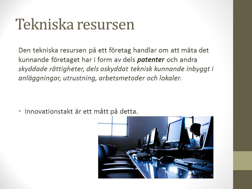 Tekniska resursen