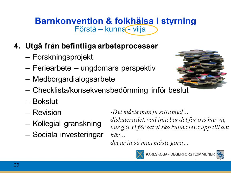 Barnkonvention & folkhälsa i styrning