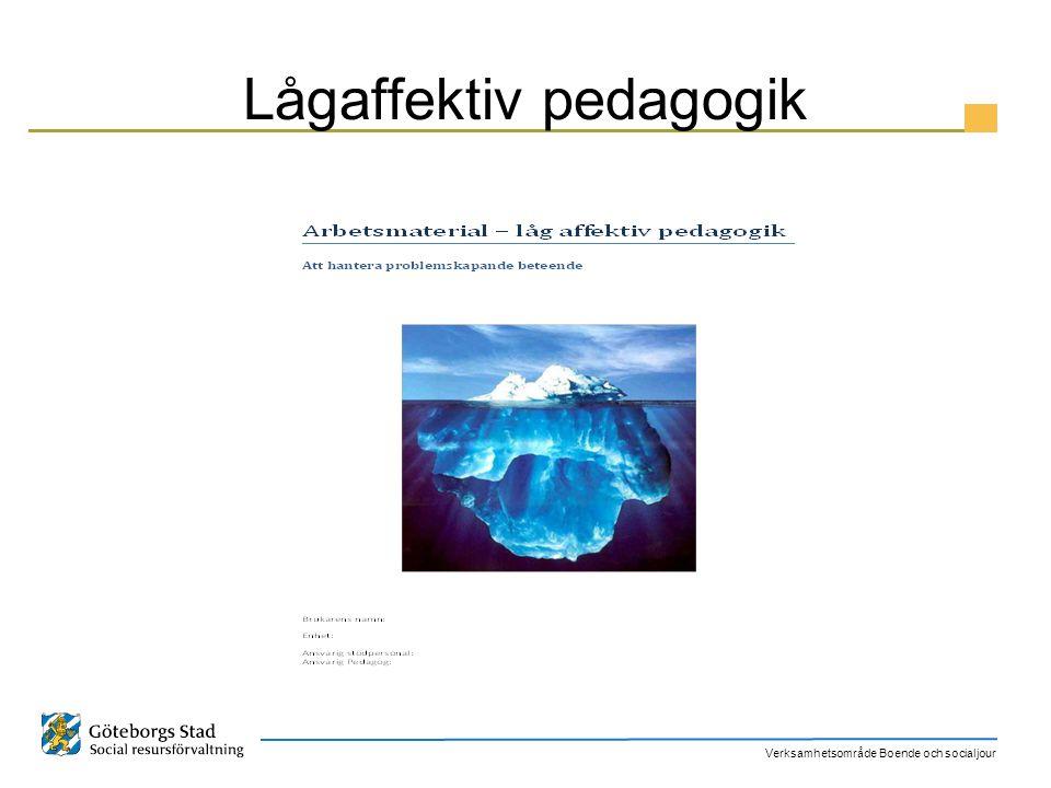 Lågaffektiv pedagogik