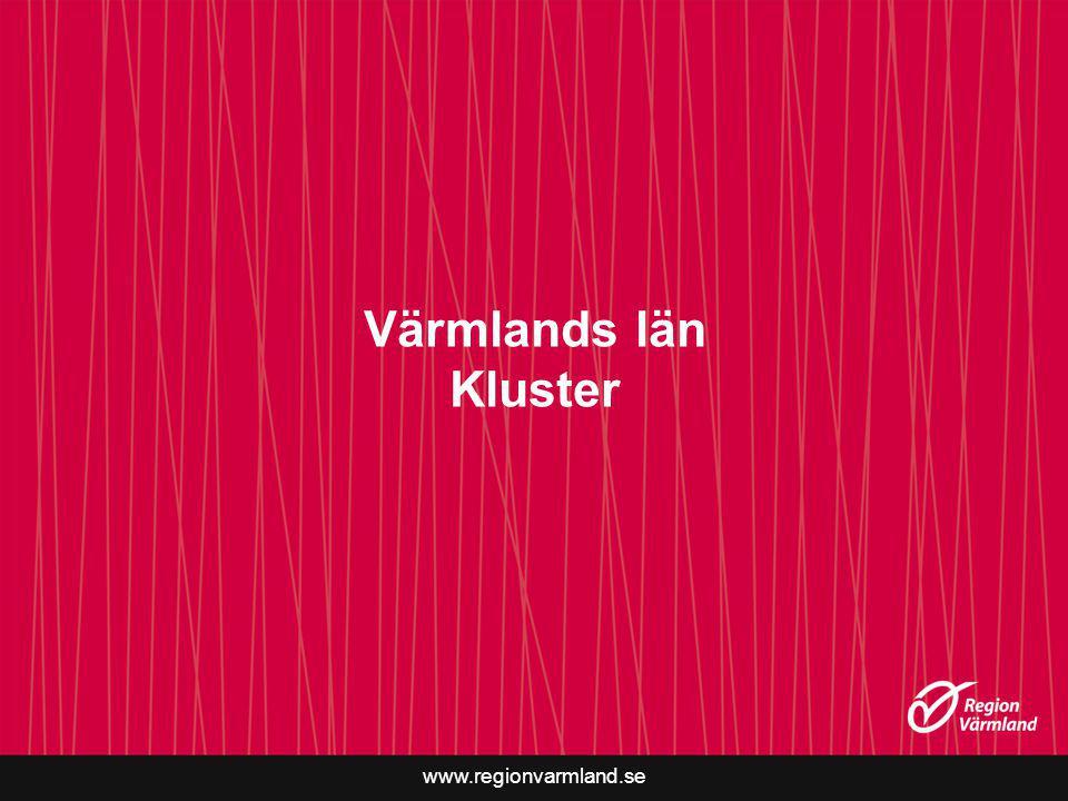 Värmlands län Kluster